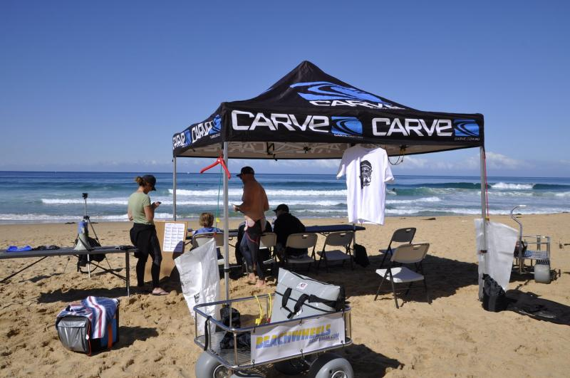 Great contest waves and perfect weather enjoyed by Garie Boardriders over the week end