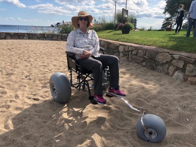 Beach Wheelchair Conversion Kit
