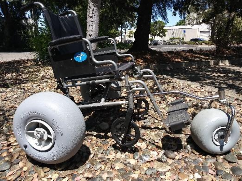 'NEW' DIY All Terrain Chair Kit (Non-Drilling Kit) by WheelEEZ®