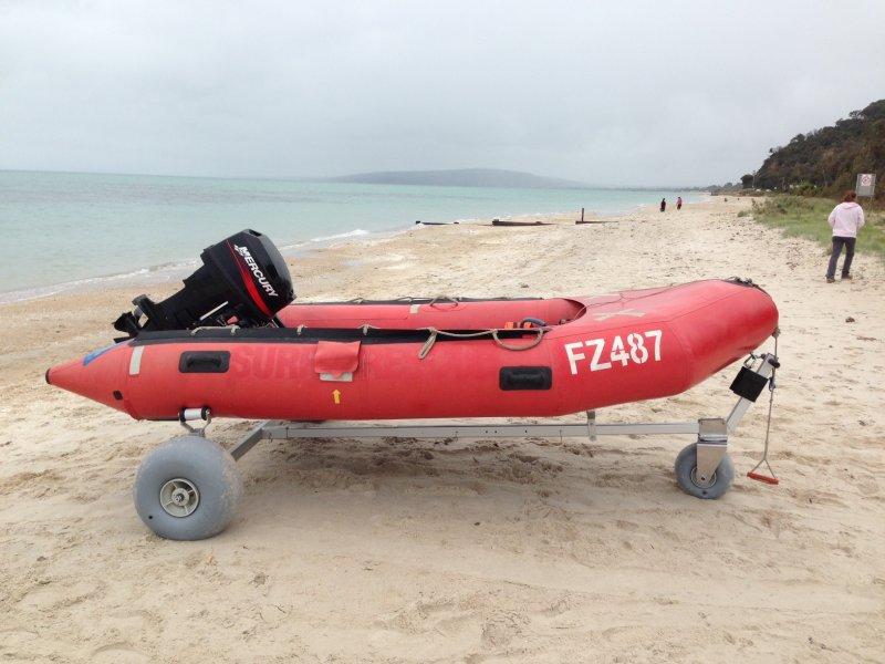 Car Wheel Dolly >> Boat Dolly with 30cm Wheels by WheelEEZ® – Beachwheels ...