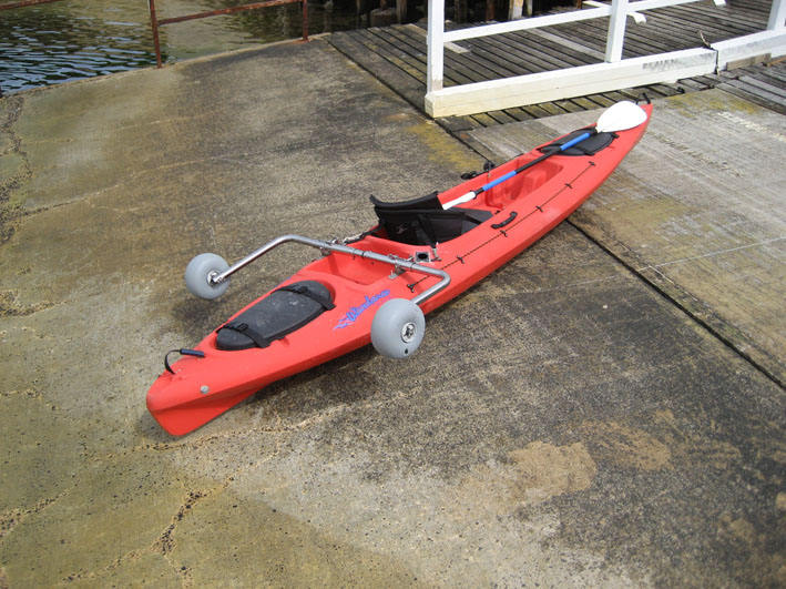 Amphibious Kayak Trolley Crocodile Final 1 2 3