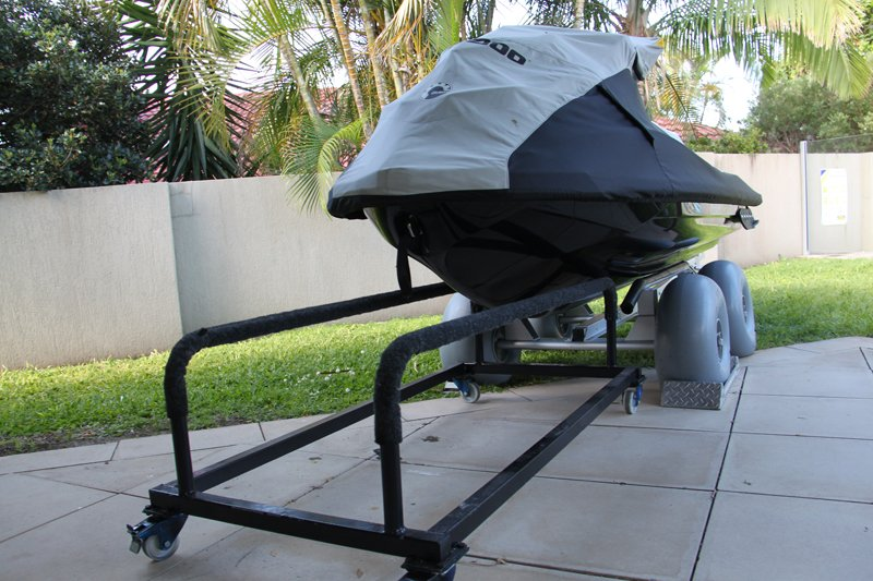 The D24 doubles as an easy transfer option to trailers and cradles!!