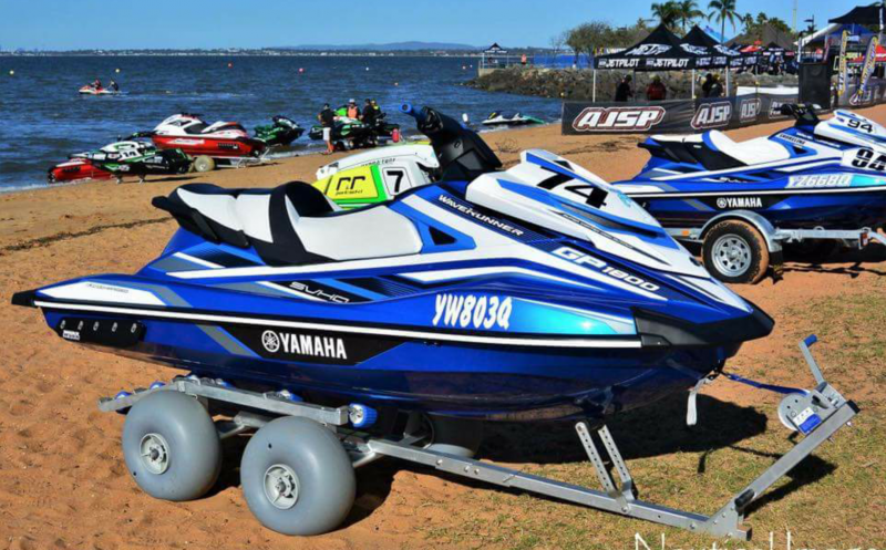 WZ1-D24 (Roller System) in use at the Australian Jet Ski Titles 2017