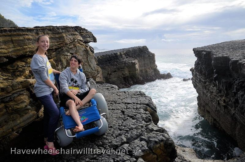 Go 'Rock Climbing' in your Sandcruiser® All Terrain Chair!!