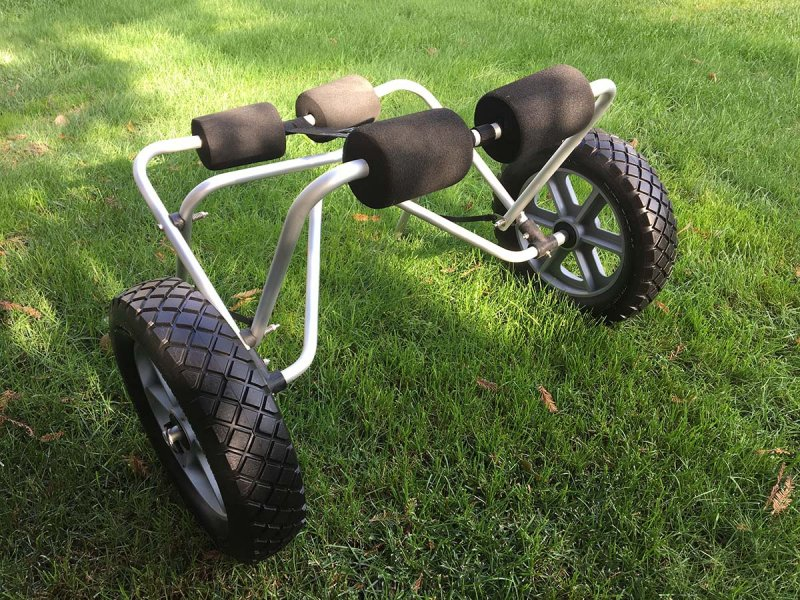 Small Boat Cart with Tuff Tyres