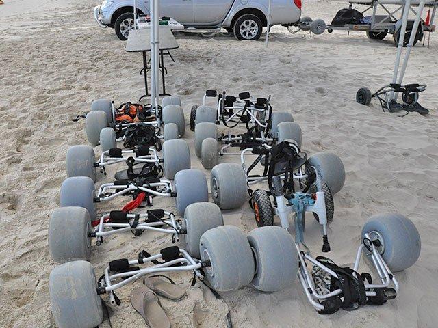 The WheelEEZ® KCB has many Kayak Fisherman Fans!!