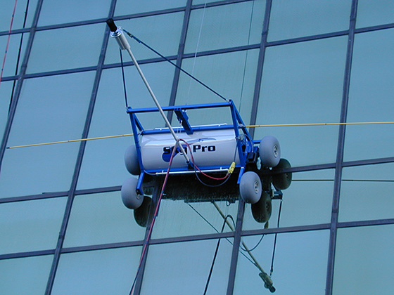 Roll Window Washing Gear