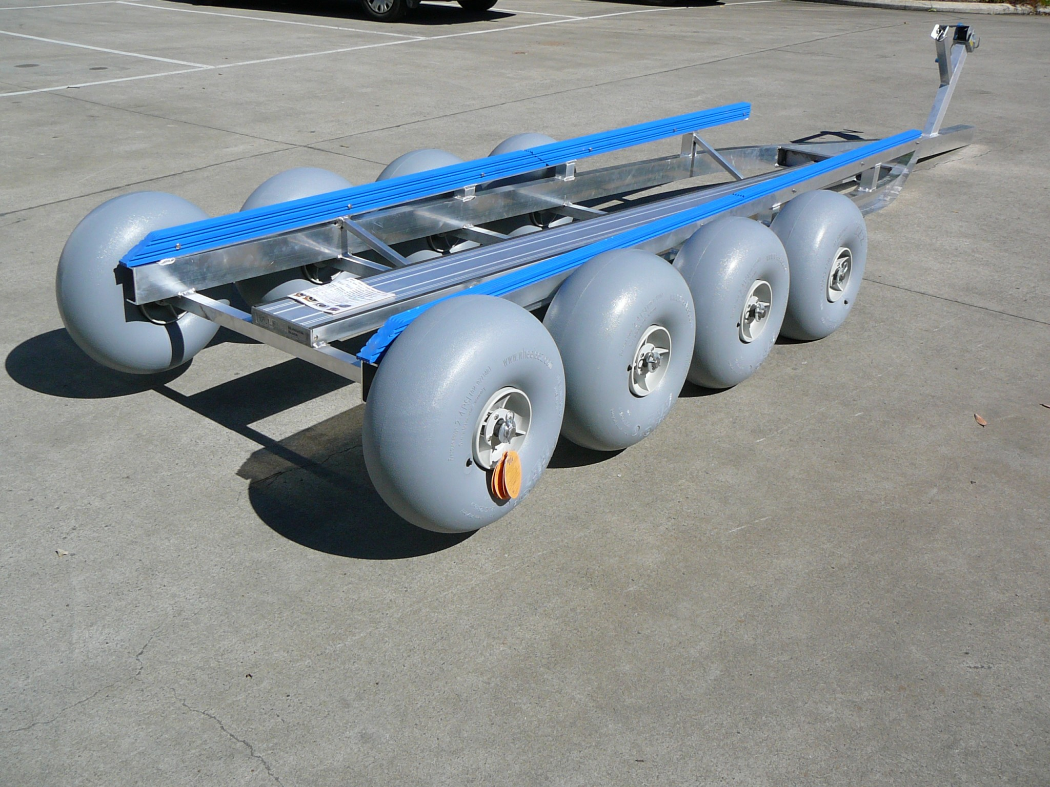 Custom Jet Ski Dolly 4 – Beachwheels Australia