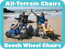 All-Terrain Chairs Beach Wheel Chairs