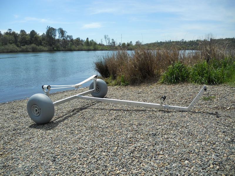 Small Boat Wheels : Boat dolly with cm wheels beachwheels australia