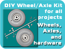 DIY Wheel / Axle Kits