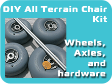 DIY Kits with wheels, axles, and hardware