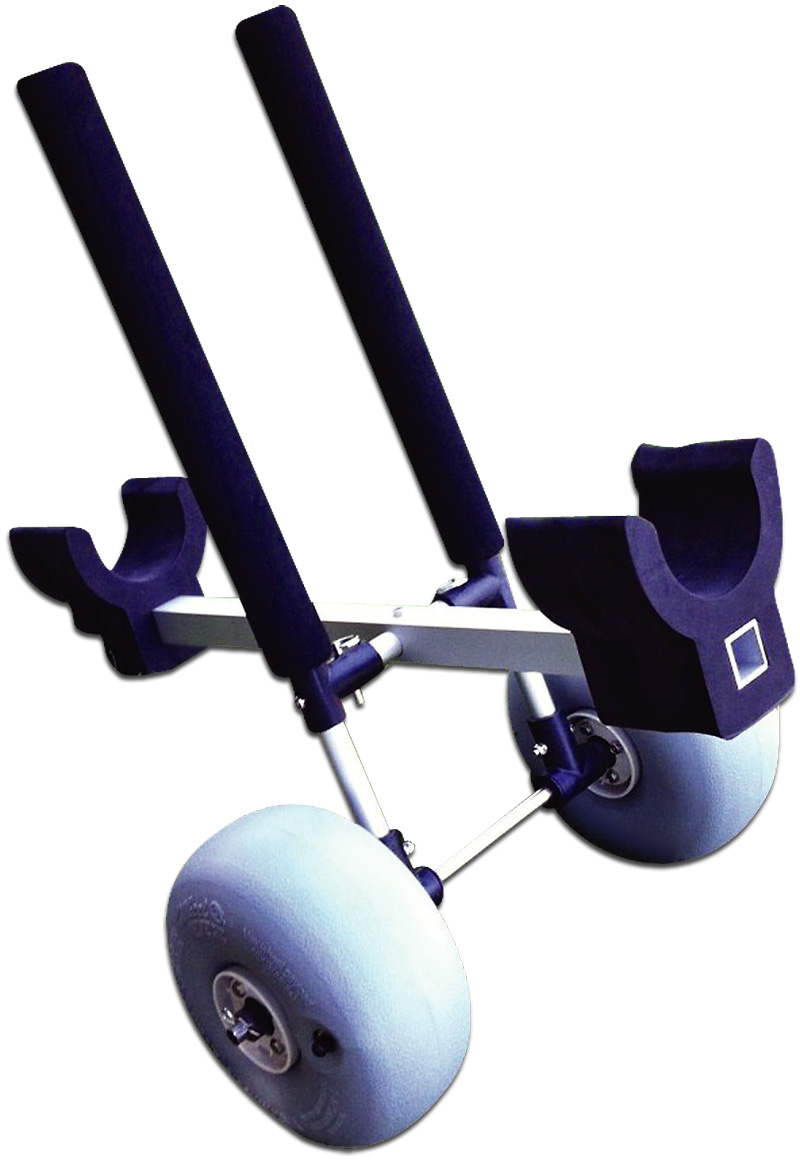 Motorized Surfboard Trolley Supreme Vertical Carry By
