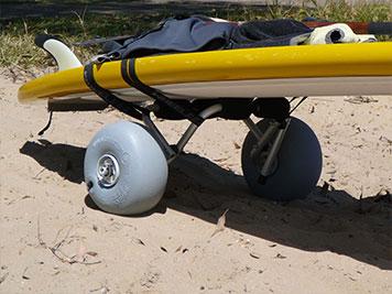 Surfboard Trolley